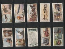 Tobacco cards Cigarette cards Past & Present 1929 set